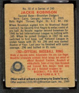 Vintage Baseball Card Price Guide Page 3