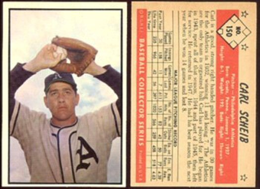 1953 Bowman Baseball Vintage Baseball Card Price Guide