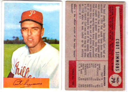 1954 Bowman Baseball Vintage Baseball Card Price Guide